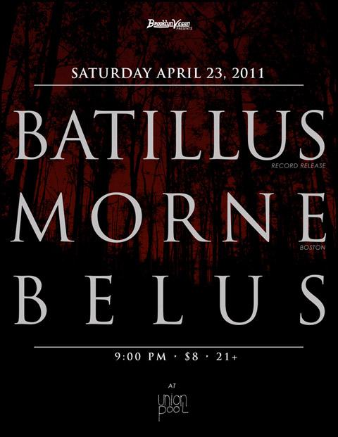 Batillus / Morne / Belus Flyer