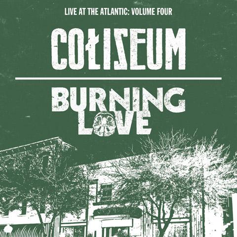 Coliseum Burning Love Art