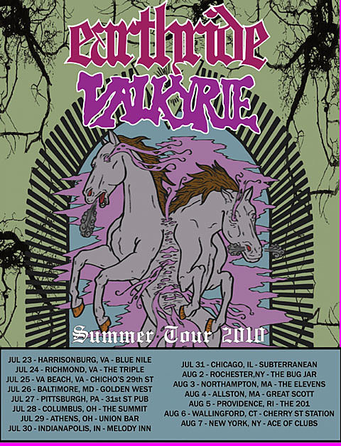 Earthride / Valkyrie Tour