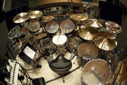 Dave Lombardo's Drumkit