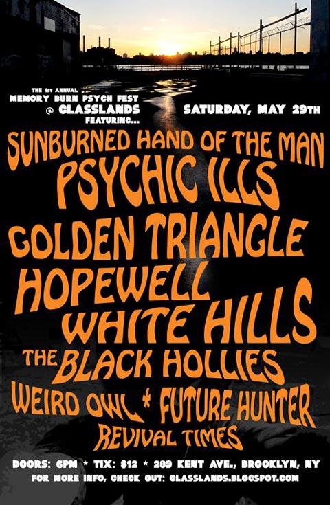 Memory Burn Psych Fest