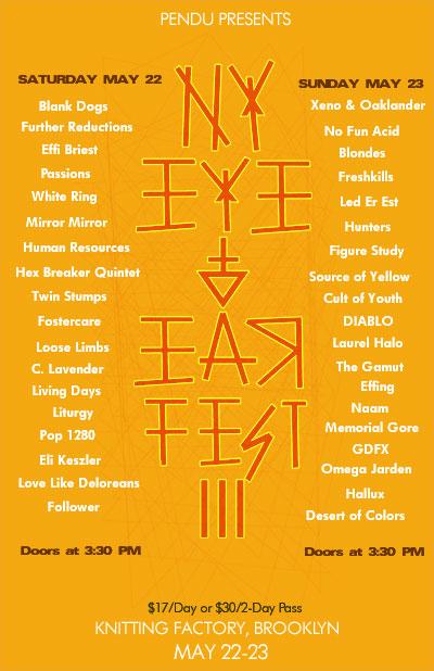 NY Eye & Ear III Flyer