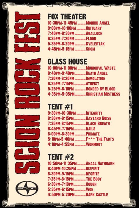 Scion Rock Fest
