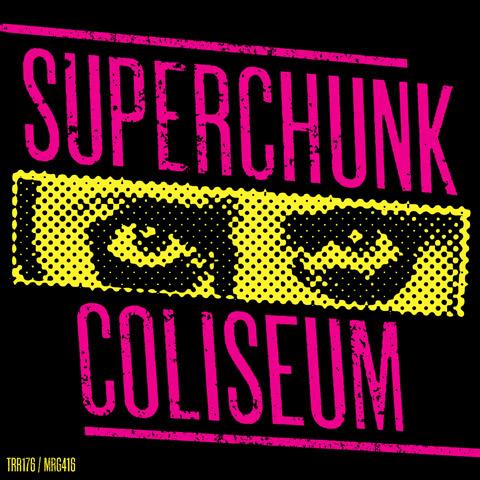 Superchunk/Coliseum split art