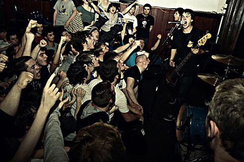 Title Fight touring w/ Touche Amore (dates), playing Chaos