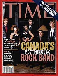 Arcade Fire on Time magazine