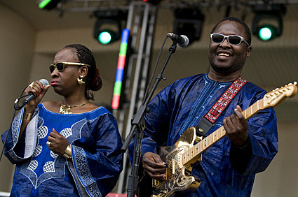 Amadou and Mariam @ Lollapalooza