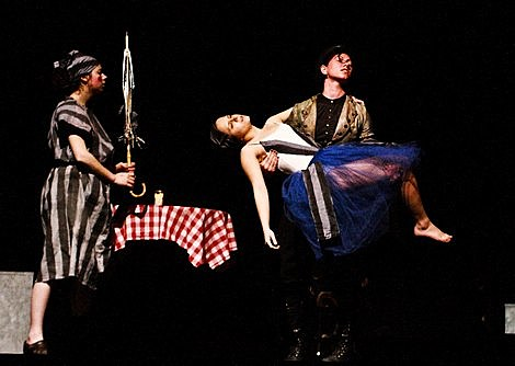 Amanda Palmer - Boston - With the Needle That Sings in Her Heart