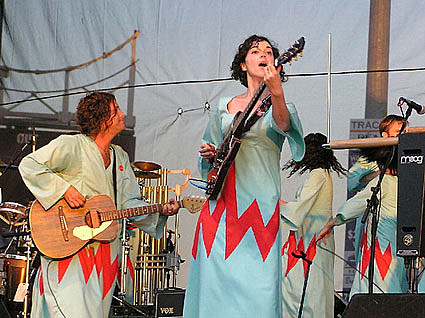 Annie Clark in Polyphonic Spree
