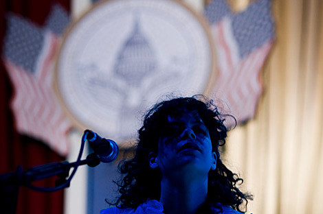 Arcade Fire and Obama