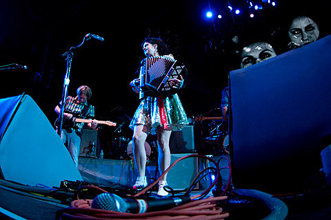 arcade fire at msg