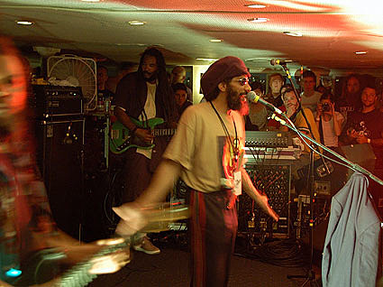 Bad Brains on a boat