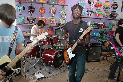 Bloc Party playing Urban Outfitters