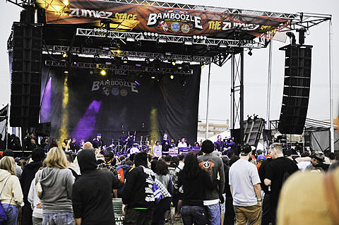 Bamboozle Festival 2012 - Day 3