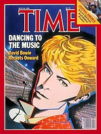 David Bowie on Time magazine