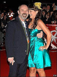 Lily Allen and dad