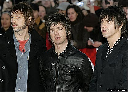 Oasis @ The Brits