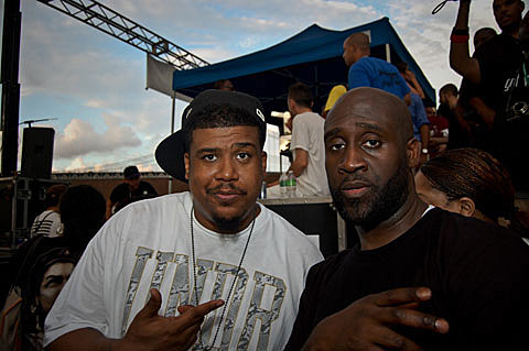 Posdnous and Dave of De La Soul