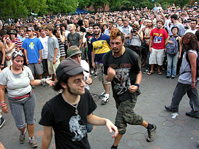 Bouncing Souls @ Washington Square Park