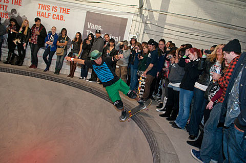 2d7409040ff544 House of Vans warehouse in Brooklyn hosts concerts (and is a skate ...