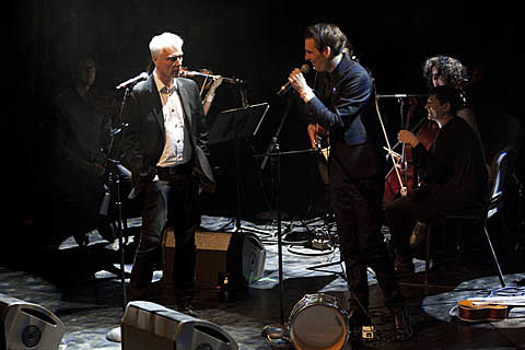 David Byrne and Jherek Bischoff