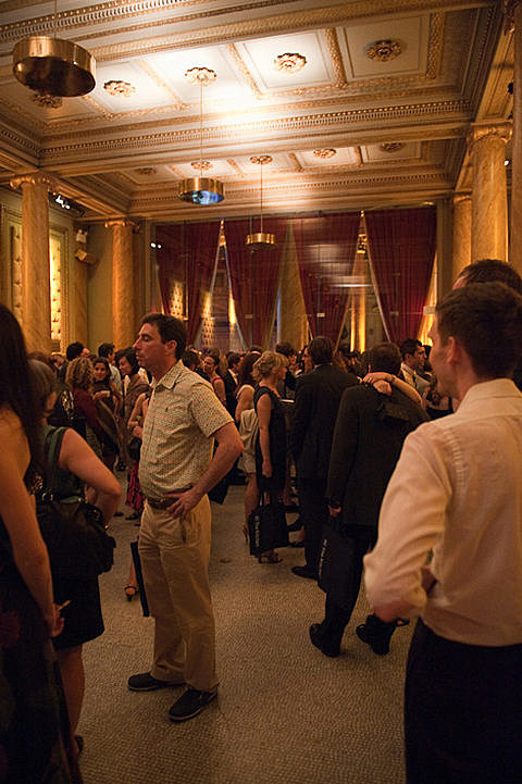 David Byrne Benefit at Capitale