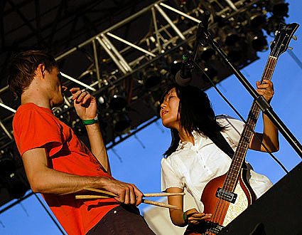 Deerhoof @ McCarren Pool