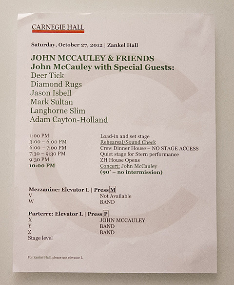 John McCauley and Friends - Live at Zankel Hall in Carnegie Hall