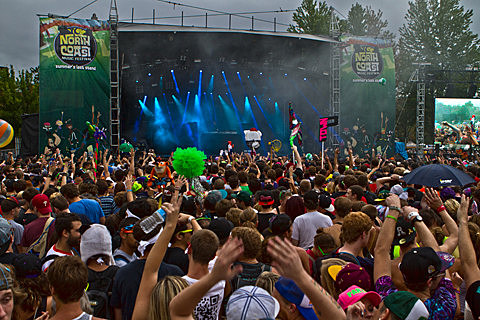 North Coast 2012 - Festival Day 2 in Pictures