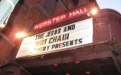 Jesus & Mary Chain @ Webster Hall