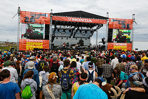 Sasquatch Festival 2012 - Day 2