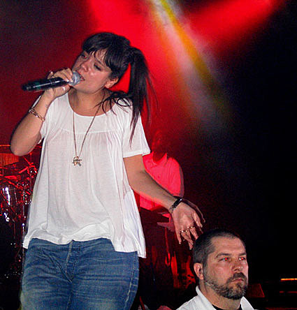 Lily Allen at the Commodore