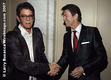 Lou Reed & David Bowie