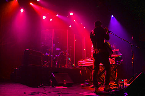 M83 played msg w the killers irving plaza pics setlist The killers madison square garden