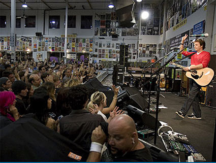 Paul McCartney @ Amoeba Records