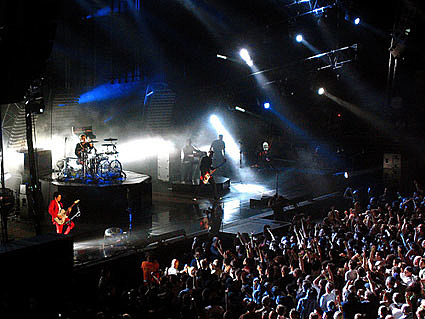 Muse & the Cold War Kids played MSG in NYC