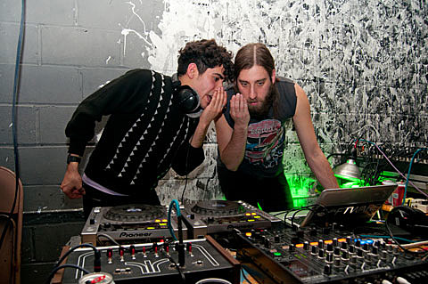 Neon Indian and Joel Ford DJ Set