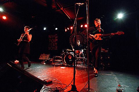 Orca Team played NYC Popfest (pics), playing Rock Shop