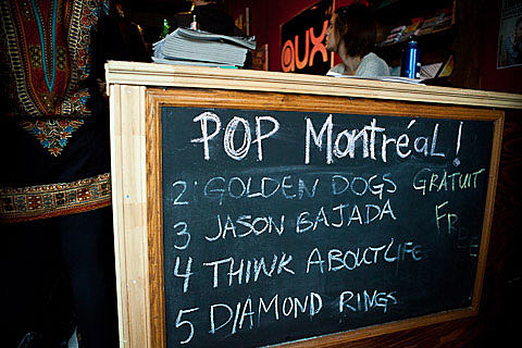 Diamond Rings at Pop Montreal 2010