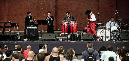 Ronnie Spector and friends @ McCarren Pool