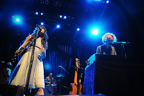 She and Him show
