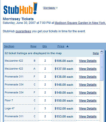 photograph about Stubhub Printable Tickets known as Ticketmaster sues eBays StubHub more than ticket gross sales