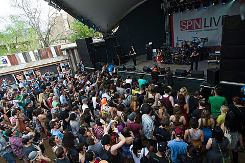 Spin at Stubb's, 3/16