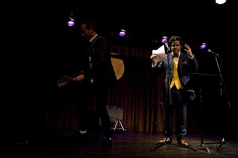 Ted Leo with Paul F. Tompkins /></p> <p><img src=