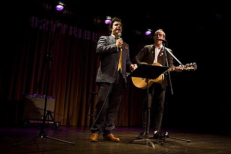 Ted Leo with Paul F. Tompkins