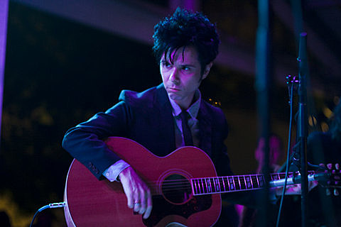 Karen O and Nick Zinner at the MOMA