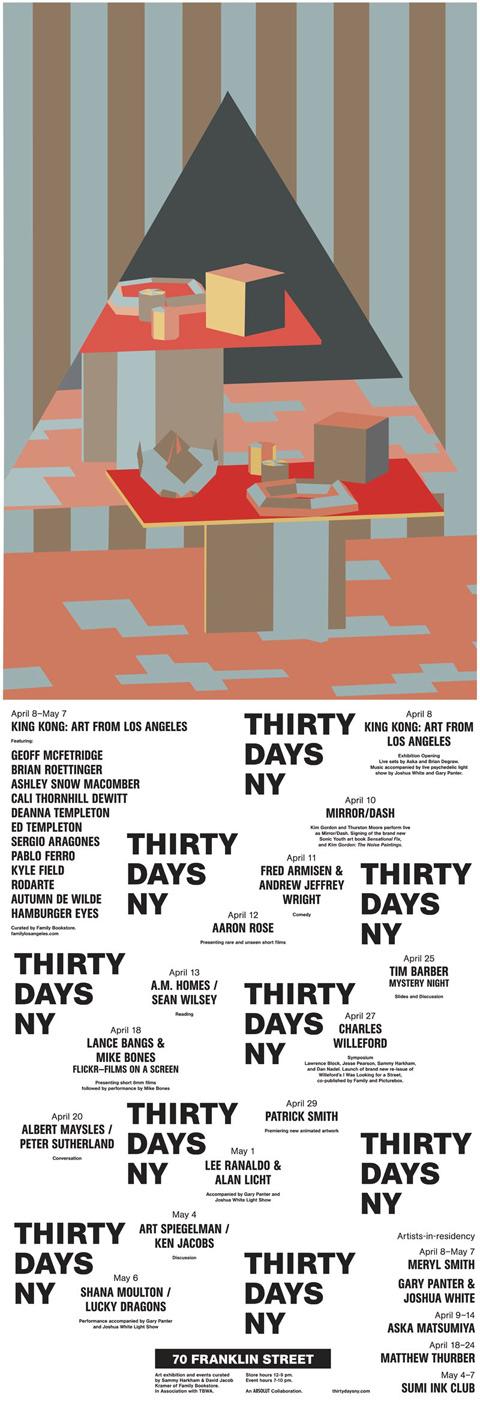 30 Days flyer