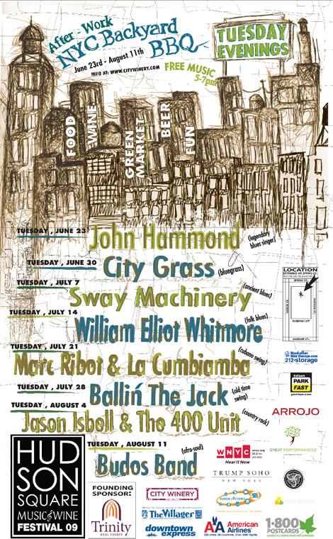 Hudson Square Music Fest