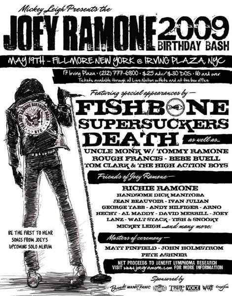 Joey Ramone B-day Bash