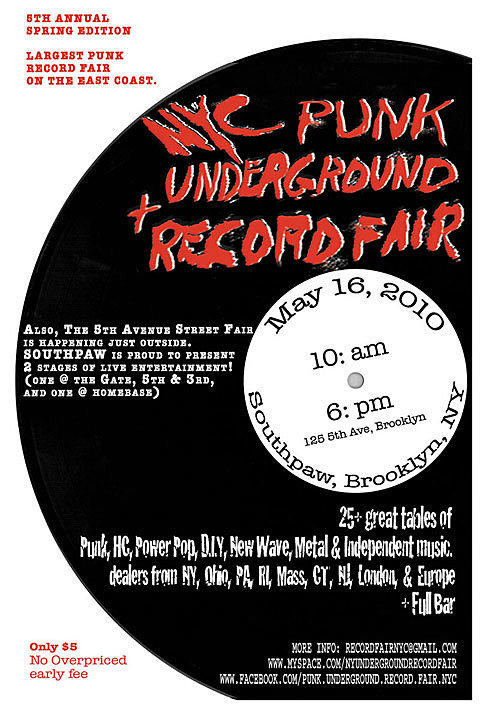 Fifth Avenue Record Fair